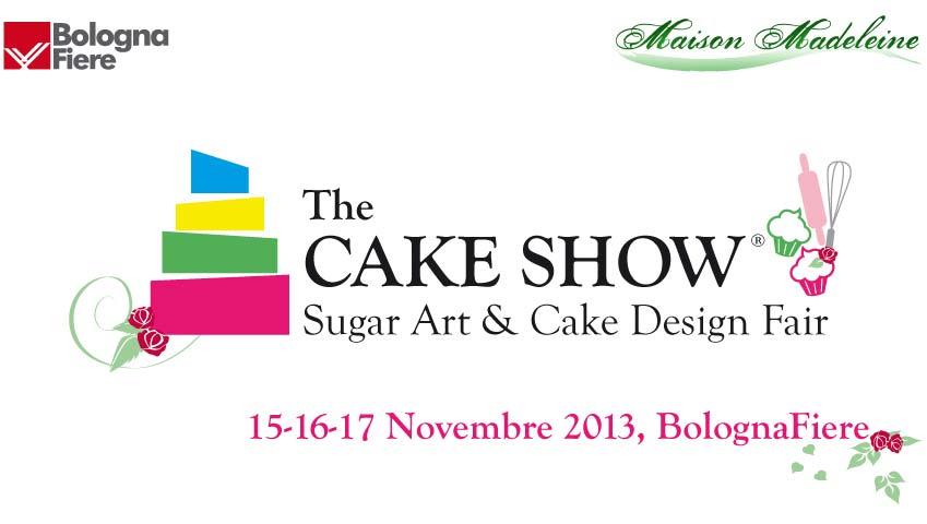 Banner The cake show 2013 Bologna