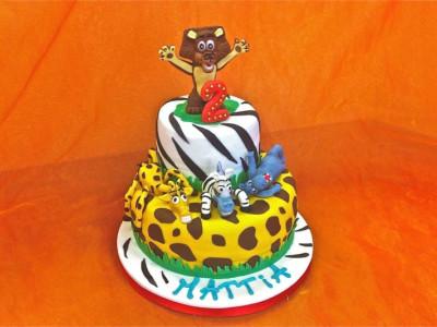 Torta creativa in Pasta di Zucchero per Mattia