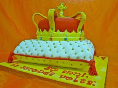 Torta creativa in Pasta di Zucchero